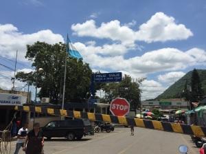 La frontera de Guatemala y Mexico en La Mesilla / the border between Guatemala and Mexico at La Mesilla